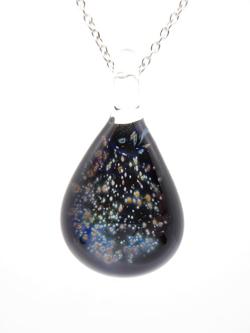 SN9 glass pendant / pendentif en verre