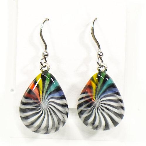 Boucles d'oreilles/Teardrop earrings VORTEX 1