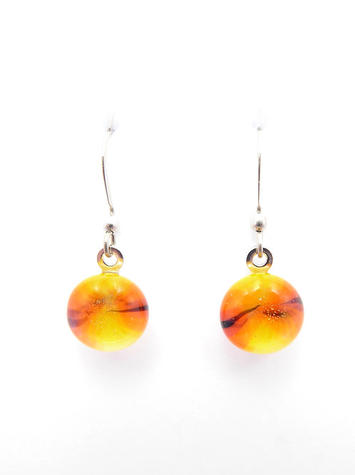 Vo14 glass earrings / boucles d'oreilles en verre