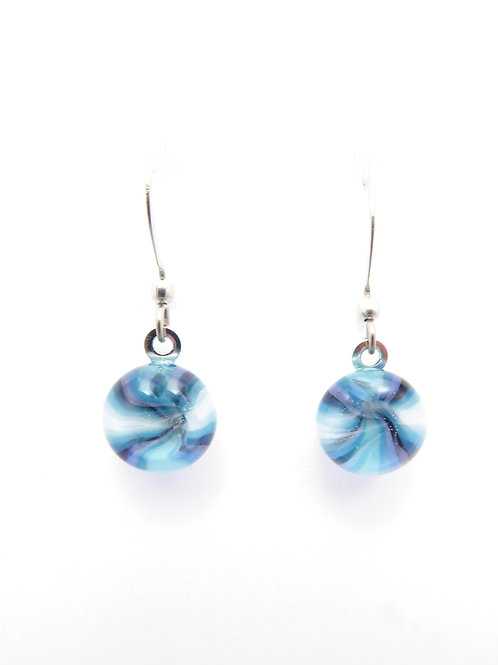 Vaw14 glass earrings / boucles d'oreilles