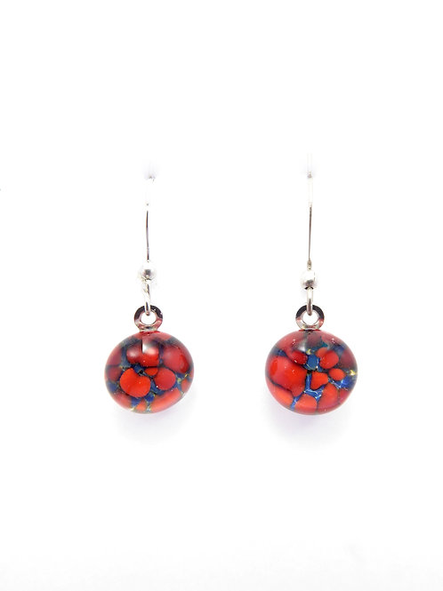 LF14 glass earrings / boucles d'oreilles en verre