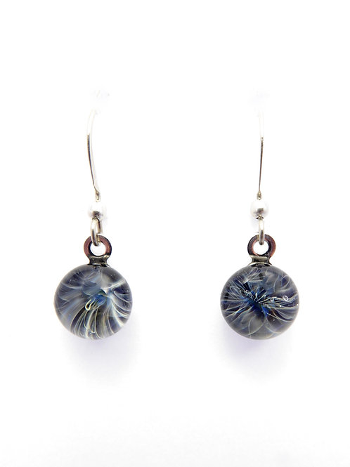 G14 glass earrings / boucles d'oreilles en verre