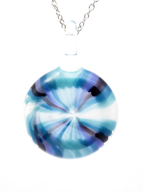 Vaw19 glass pendant / pendentif en verre