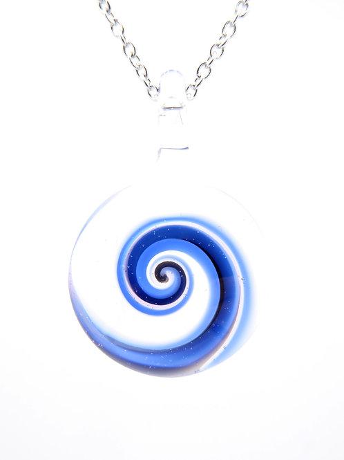 S7 glass pendant / pendentif en verre