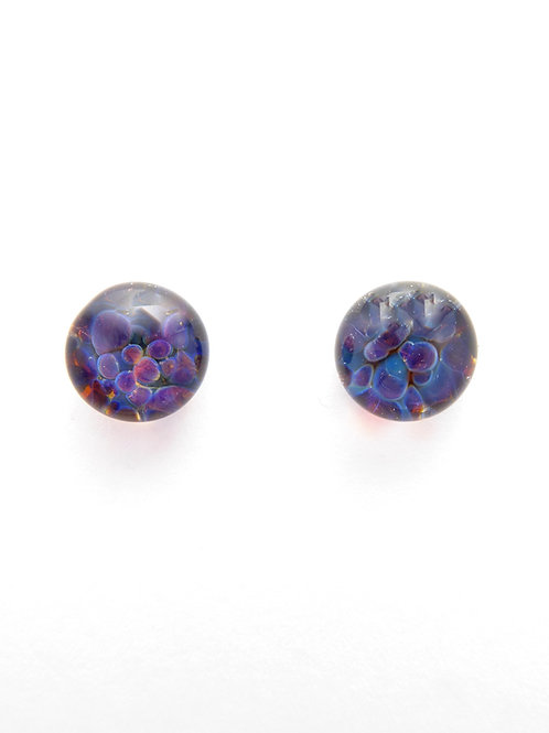 GV13 glass earrings / boucles d'oreilles en verre