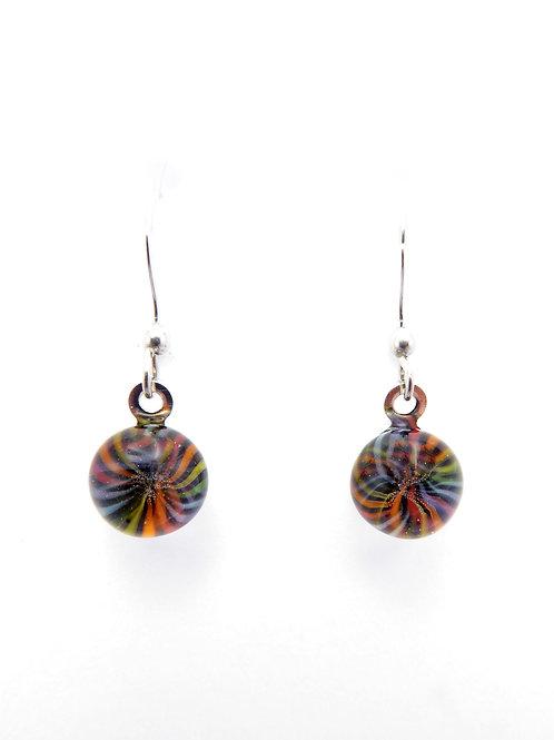 Vc14 glass earrings / boucles d'oreilles en verre