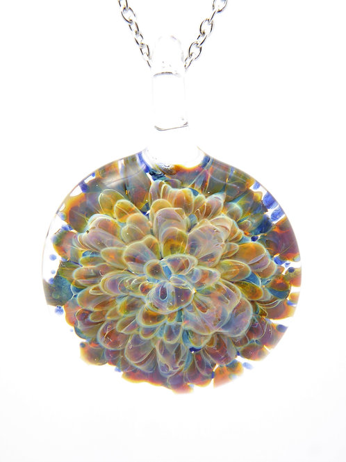 GV19 glass pendant / pendentif en  verre