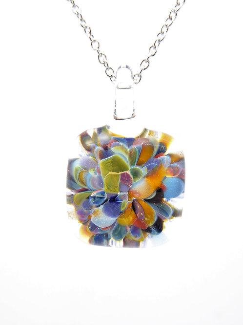 MC2 glass pendant / pendentif en verre