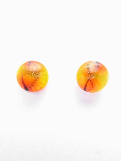 Vo13 glass earrings / boucles d'oreilles en verre