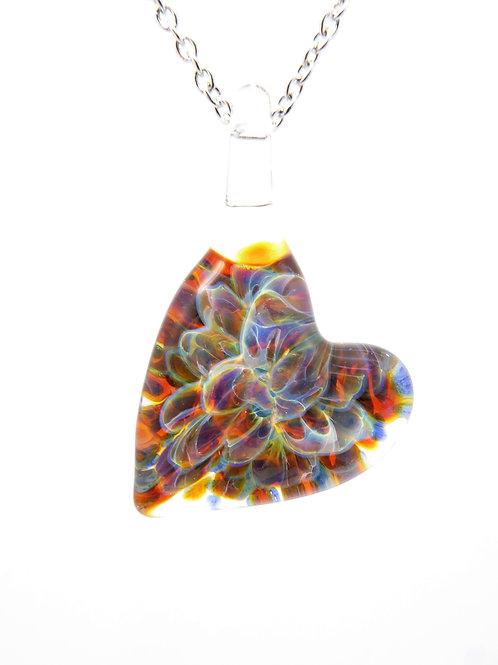 GV8 glass pendant / pendentif en verre