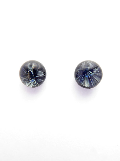 G13 glass earrings / boucles d'oreilles en verre