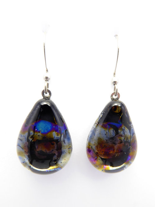 AB12 glass earrings / boucle d'oreilles en verre
