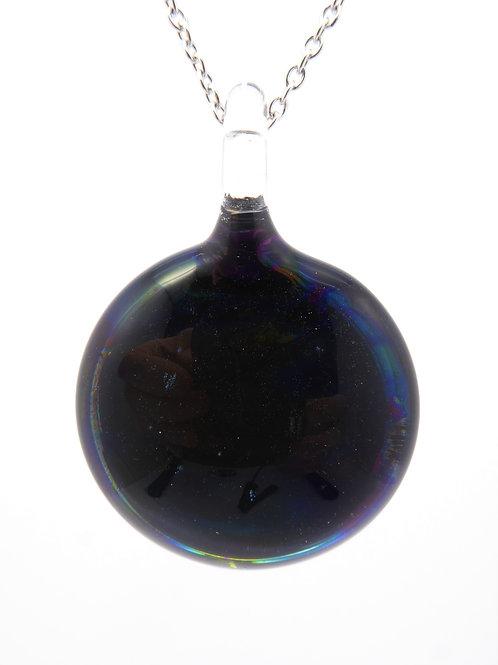 AB19 glass pendant / pendentif en  verre