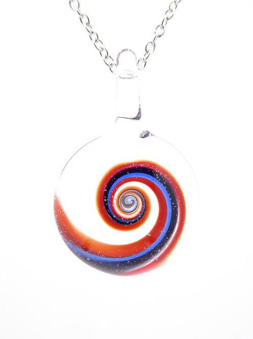 S11 glass pendant / pendentif en verre