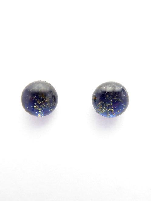 SN13 glass earrings / boucles d'oreilles en verre