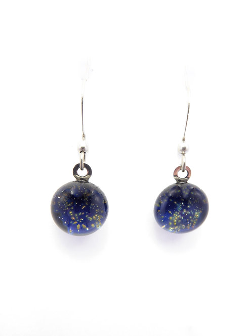 SN14 glass earrings / boucles d'oreilles en verre