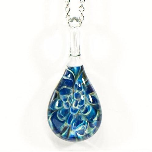 BM4 glass pendant glass / pendentif en verre