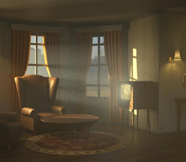LIVINGROOM SCENE - LIGHTING
