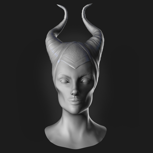 MALEFICENT - CHARACTER SCULPTING