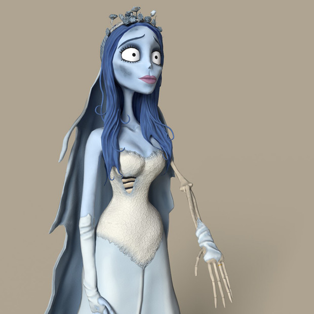 CORPSE BRIDE - CHARACTER SCULPTING