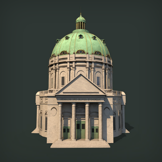 CATHEDRAL - MODELING