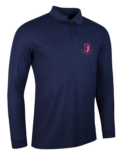 Polo Manches longues homme -Glenmuir -Max