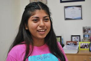Estudiante del Centro ¡Supérate! Fundación JUPÁ