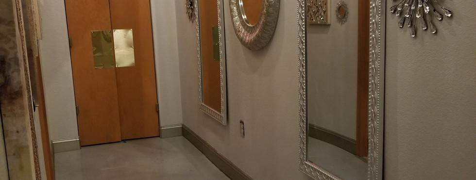 Restroom Hallway