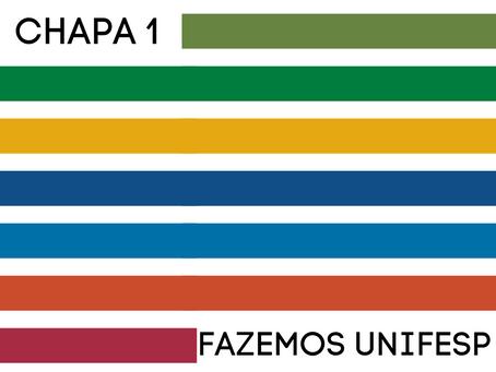 Manifesto em apoio à Chapa 1 – Fazemos Unifesp