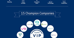 Everimpact in the top 15 out of 1,000 startups financed by the European Commission