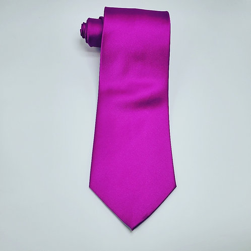 Solid Violet Traditional Tie