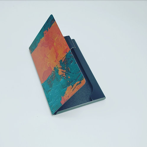 Abstract Card Case