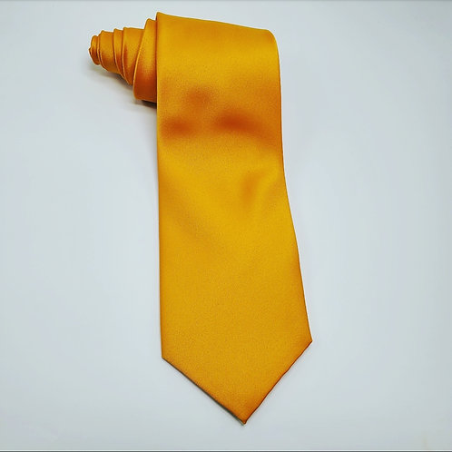 Solid Gold Bar Traditional Tie