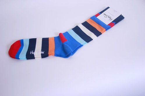 Striped Men's Dress Socks