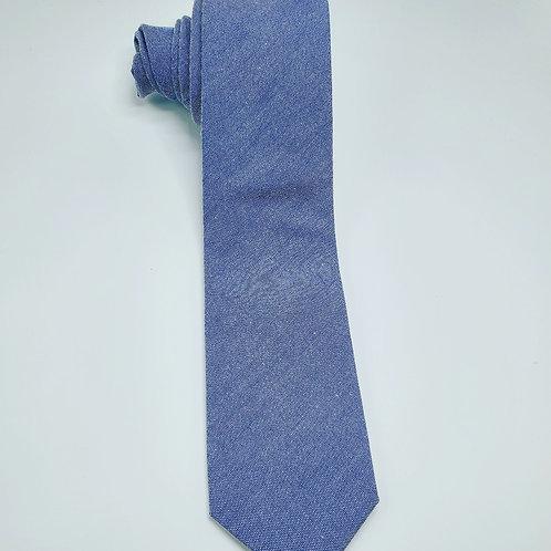 Slim Solid Washed Blue