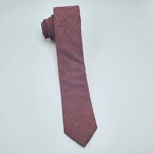 Slim Solid Brick Traditional Tie