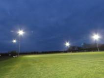 Unser TSV modernisiert seine Flutlichtanlagen