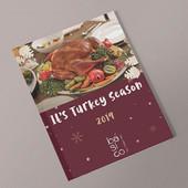 Diseño de menú de temporada para @basico