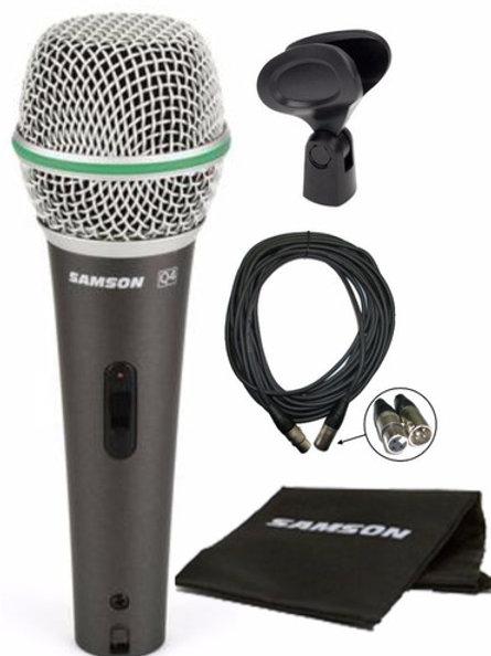 Microfono SAMSOM Dymanico Switch Q4