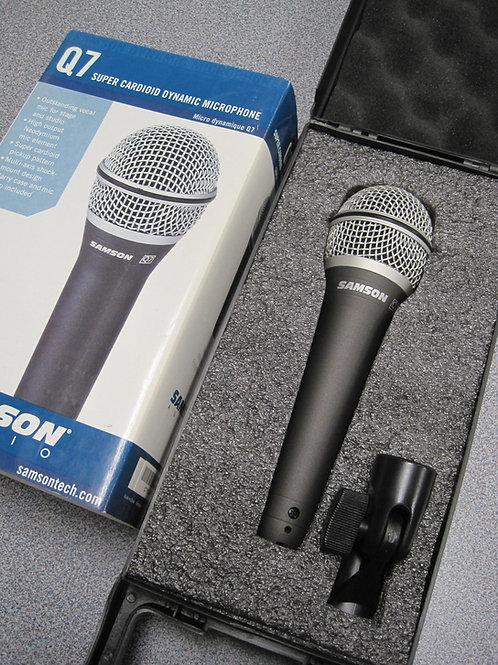 Microfono SAMSON Super Dymanico Q7X