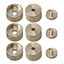 Boton metalico para Embolo de Trompeta