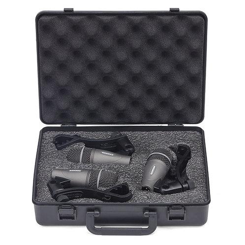 Microfono SAMSON Kit de 3 p/ Bateria
