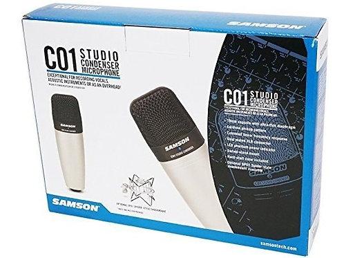 Microfono SAMSON Condensador Cardioide Diafragma Largo C01