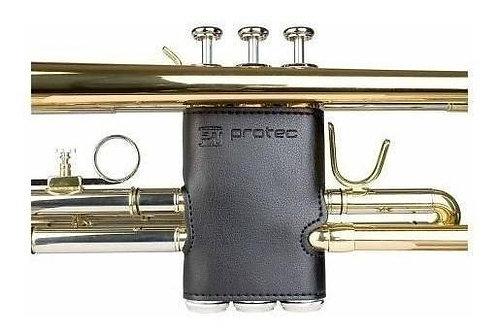Funda de Cuero para  Embolo Trompeta