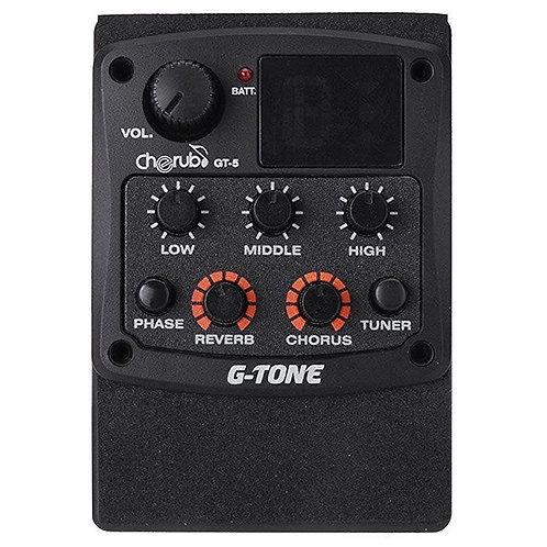 Microfono CHERUB c/ Equalizador y Afinador GT-5