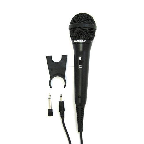 Microfono SAMSON Dymanico 1/8 -1/4 Mono  R10S