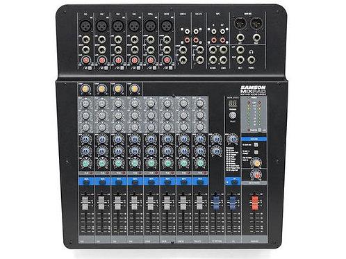 Mixer SAMSON 14 Ch Análogo/ Estéreo c/Efectos y USB