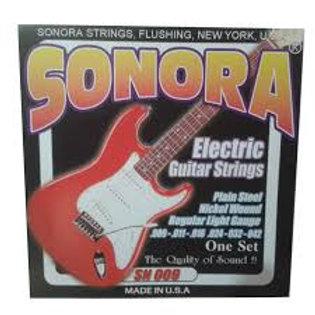 Cuerda SONORA SN009 Guitarra Electrica.