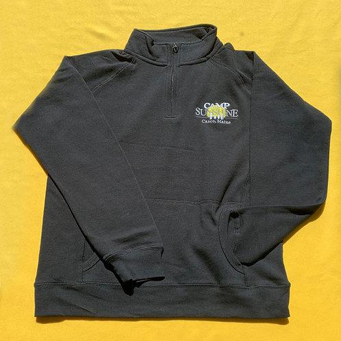 Women's Benchmark ¼ Sweatshirt - Black