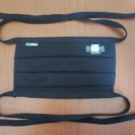 Tultex® Pleated Face Mask - Black